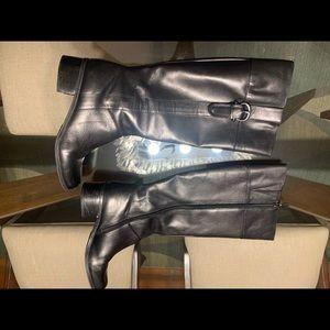 Bandolino black riding boots